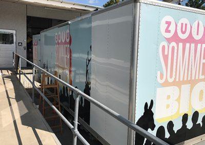 Indpakning af trailer1 fra SP Skilte